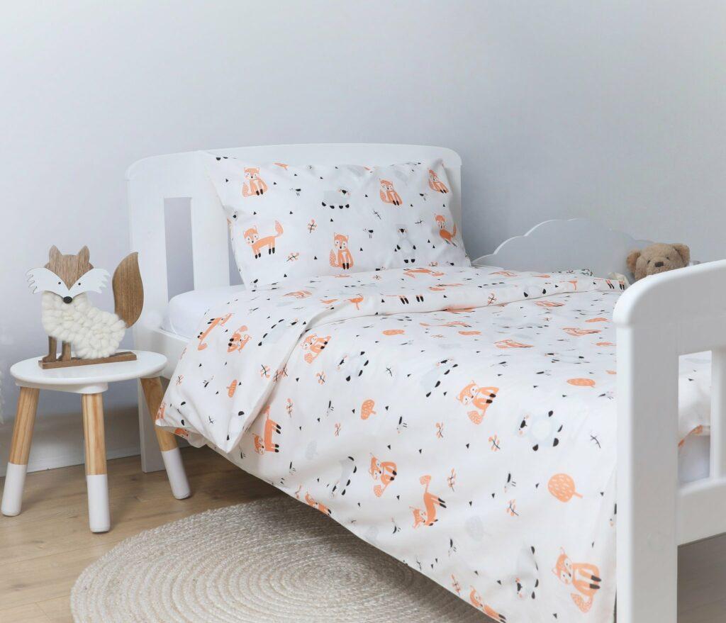 Organic Cotton Cot Bed Set - Fox & Bear