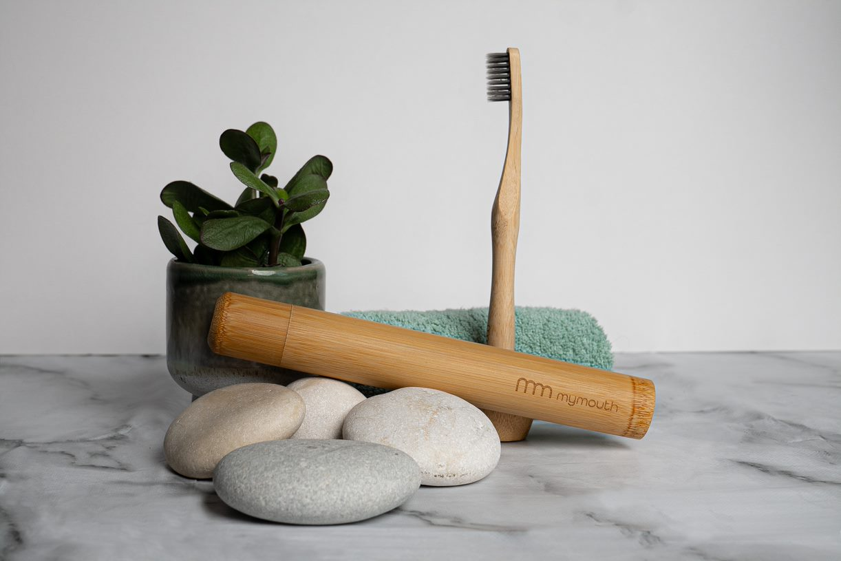 MyMouth - Bamboo toothbrush and case