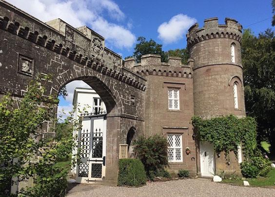 The Top Three Places I Would Love To Wake Up In - The East Gatehouse Lodge, Crieff, Scotland