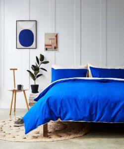 The Best Bedding For You - Undercover Living - Tencel Reversible Duvet Cover - Lido
